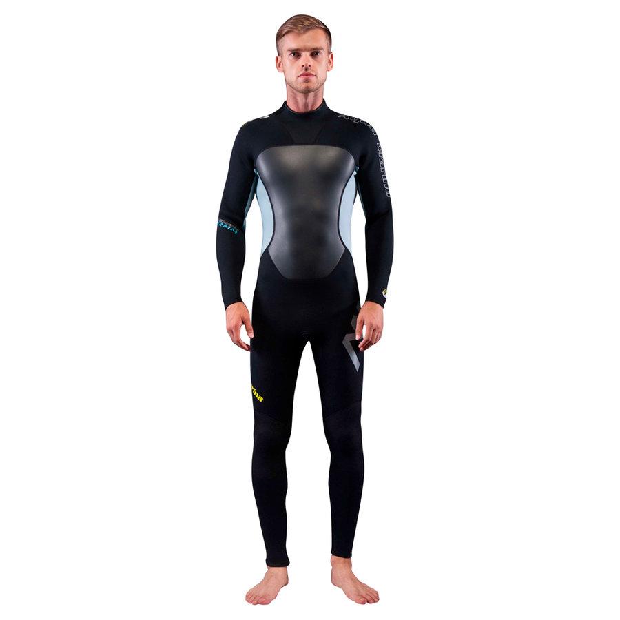 Černý dlouhý pánský neoprenový oblek Element, Aqua Marina