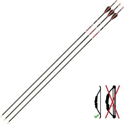 Šíp - délka 61 cm - 3 ks