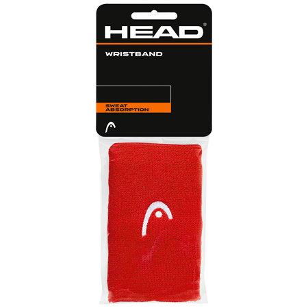 Červené tenisové potítko Head - 2 ks