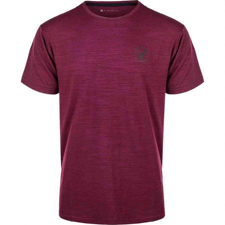 Červené pánské tričko s krátkým rukávem Virtus - velikost L