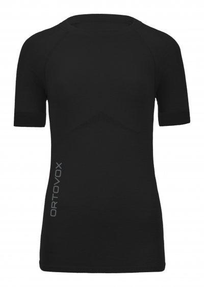 Černé dámské termo tričko s krátkým rukávem Ortovox
