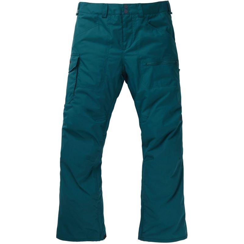 Zelené pánské snowboardové kalhoty Burton - velikost XL