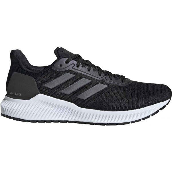 Černé pánské běžecké boty Adidas - velikost 44 EU