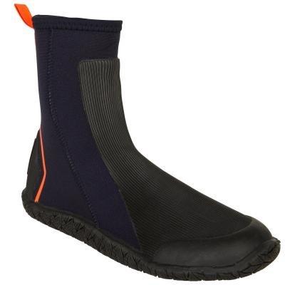 Černé vysoké neoprenové boty Tribord