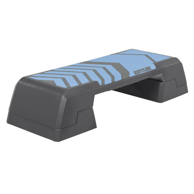 Modro-šedý aerobic step Kettler