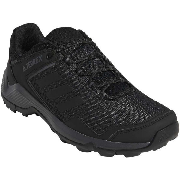 Černé pánské trekové boty Adidas - velikost 41 1/3 EU