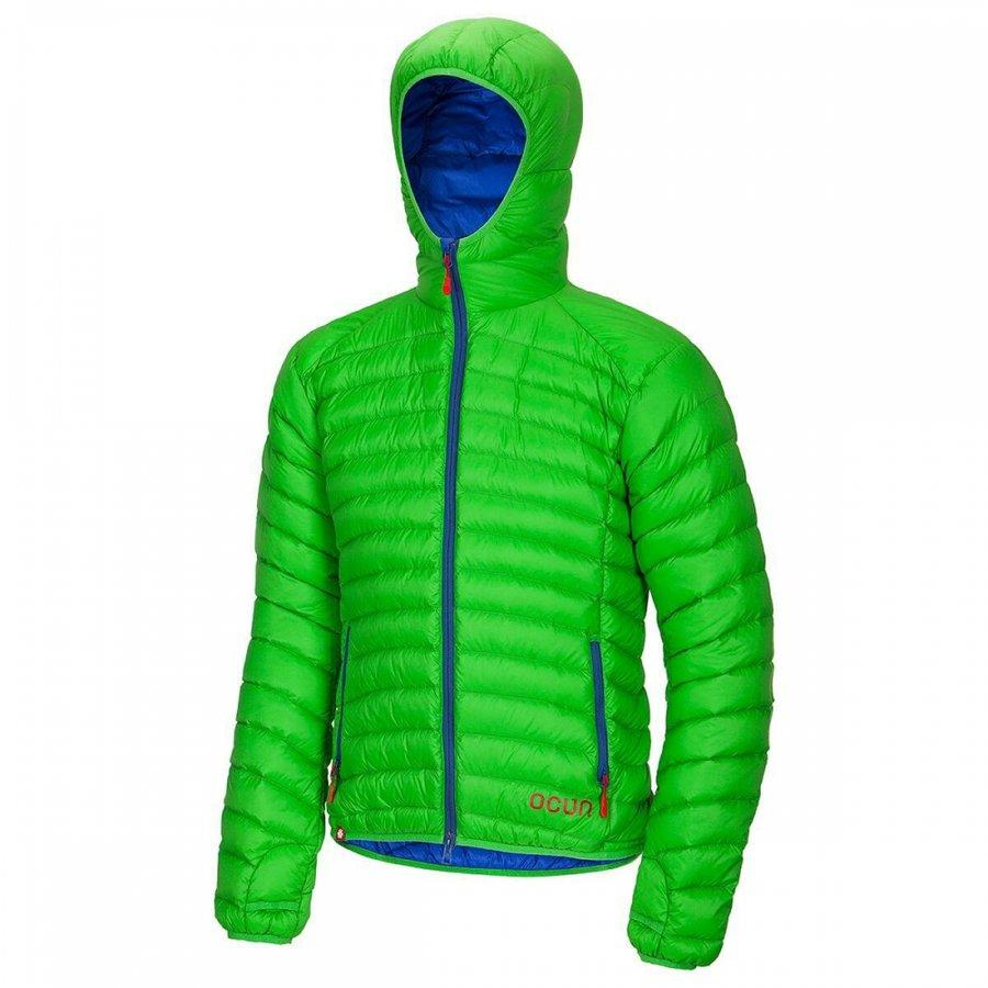 Zelená zimní pánská turistická bunda Ocún