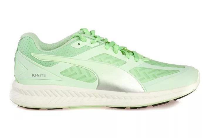 Zelené dámské běžecké boty Ignite Powercool, Puma - velikost 40 EU