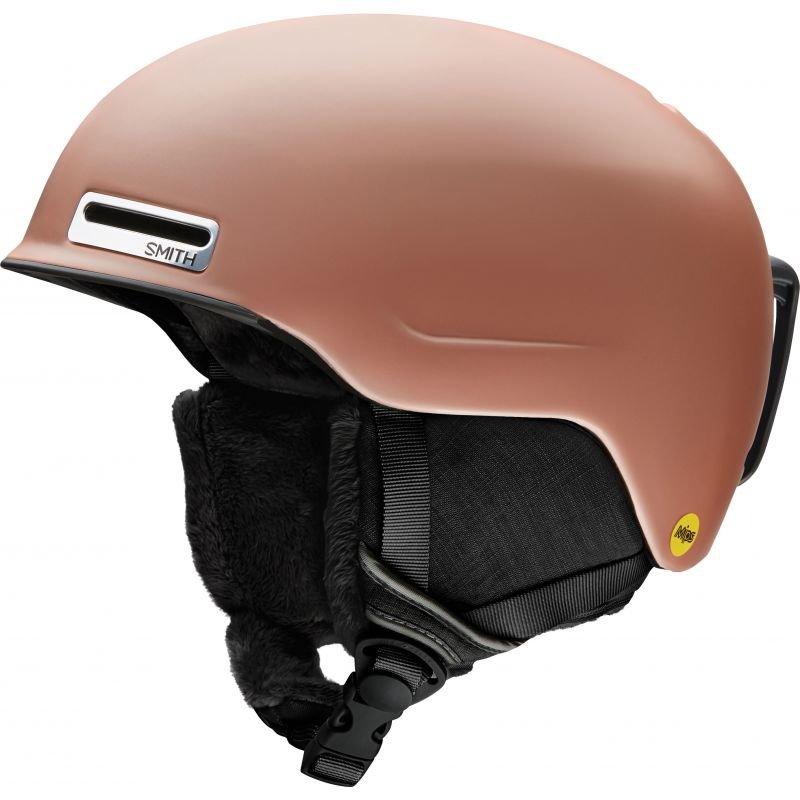 Hnědá dámská lyžařská helma Smith - velikost 51-55 cm