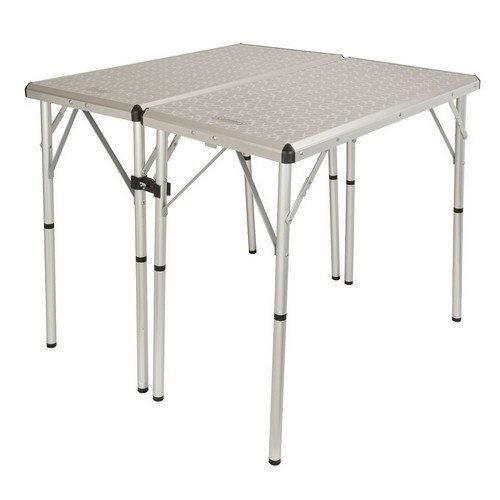 Rozkládací kempingový stůl Coleman - délka 80 cm, šířka 40 cm a výška 80 cm