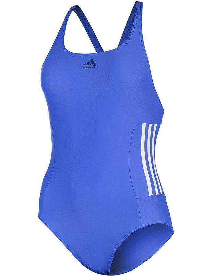 Modré jednodílné plavky Adidas - velikost M