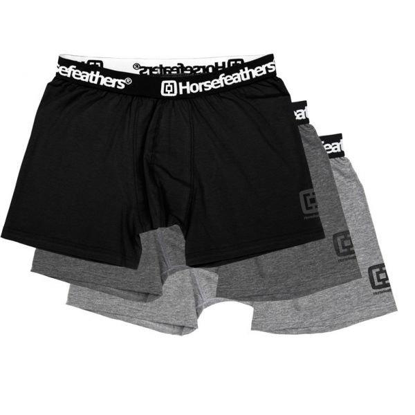 Různobarevné pánské boxerky Horsefeathers - 3 ks