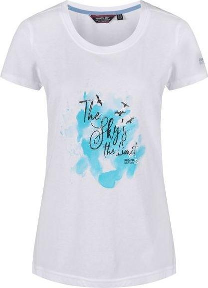 Bílé dámské tričko s krátkým rukávem Regatta
