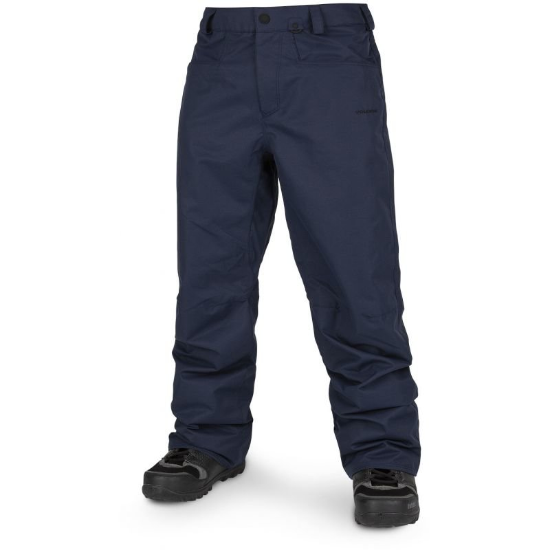 Modré pánské snowboardové kalhoty Volcom