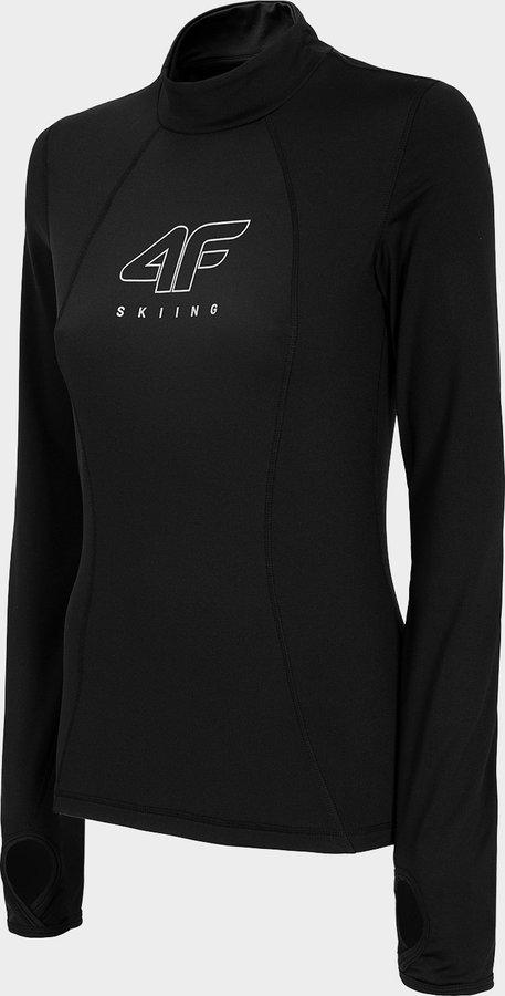Černé dámské termo tričko 4F - velikost XL
