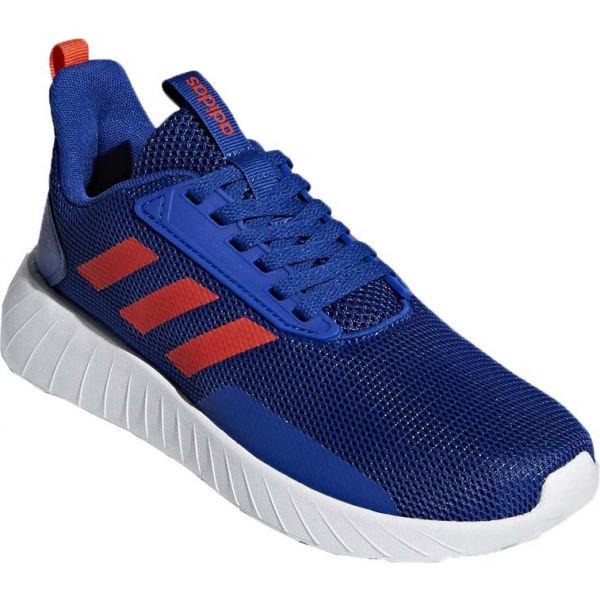 Modré dětské běžecké boty Adidas - velikost 28 EU