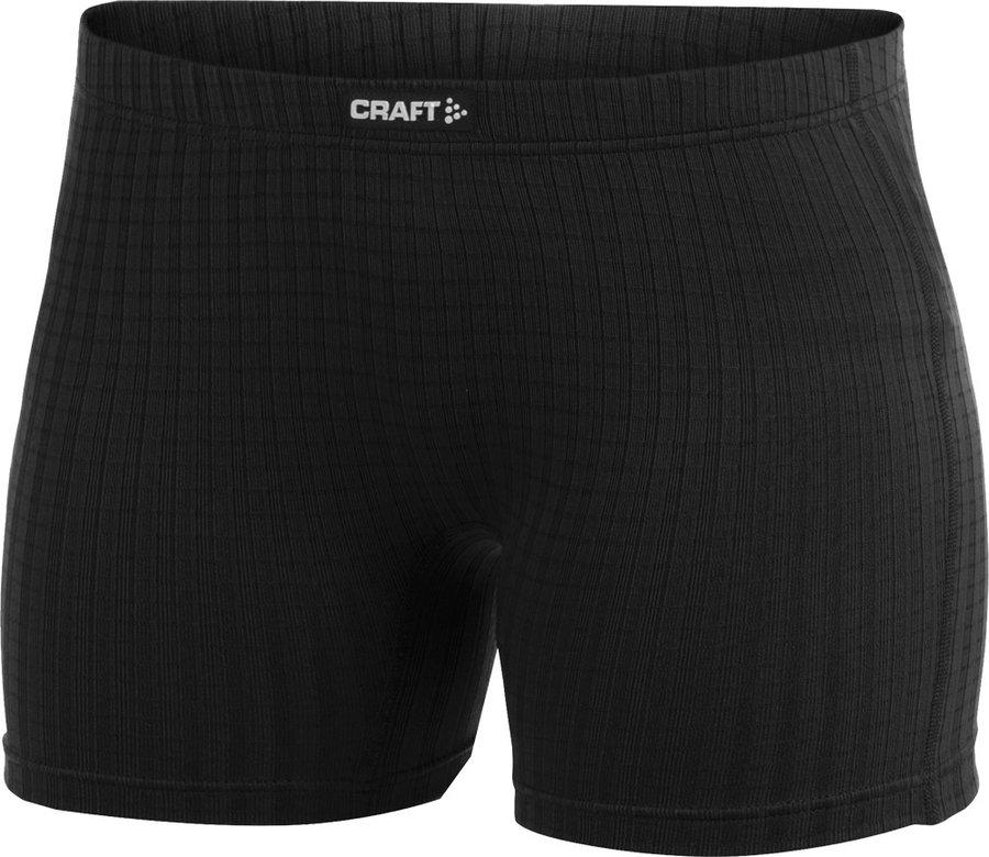 Bílo-černé dámské boxerky Craft - velikost S