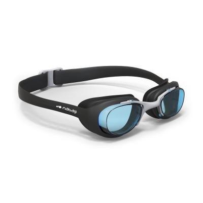 Černé plavecké brýle XBASE, Nabaiji