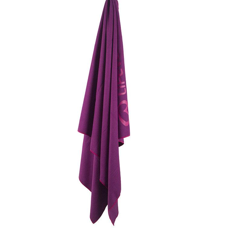 Fialový rychleschnoucí ručník Lifeventure - velikost XL