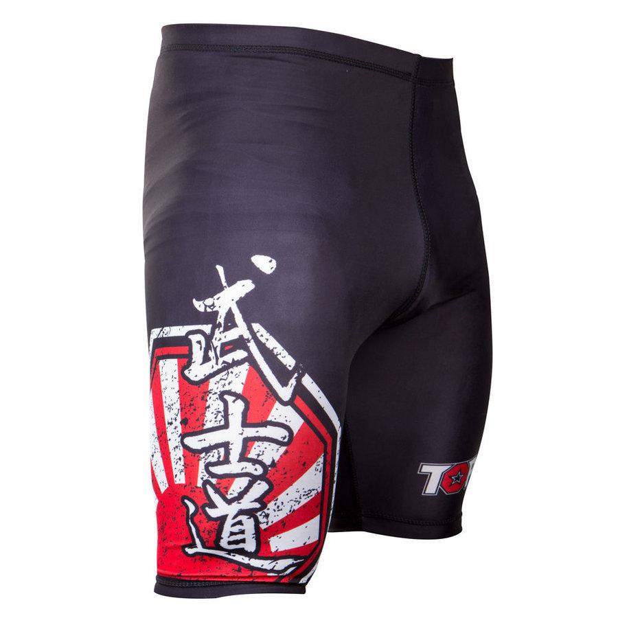 Černé MMA kraťasy Top Ten