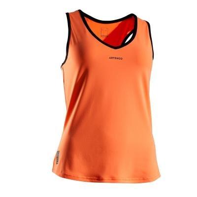 Oranžové dámské tenisové tílko Artengo