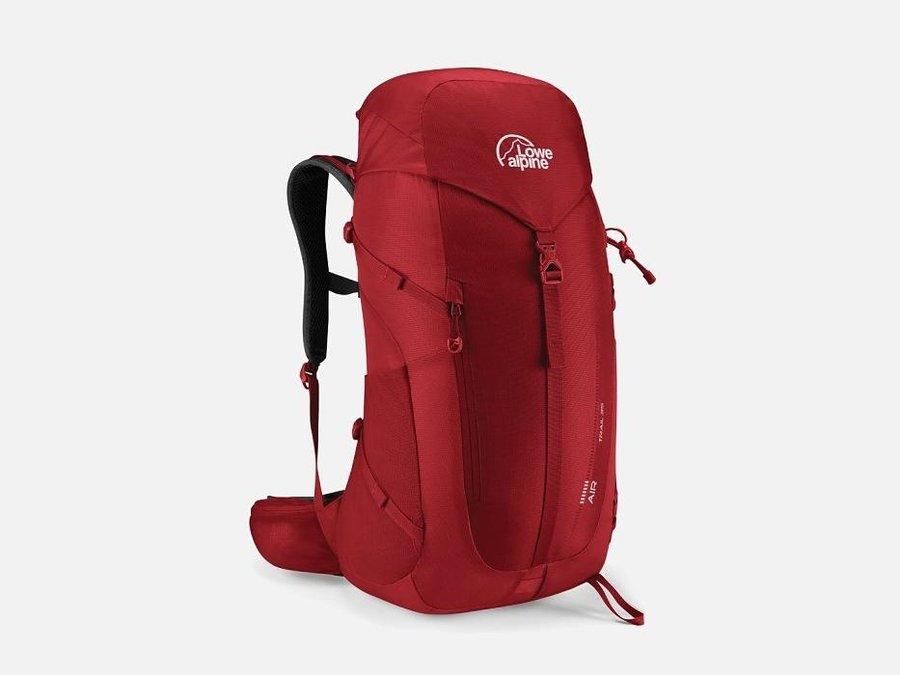 Červený turistický batoh Lowe Alpine - objem 35 l