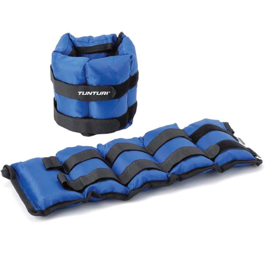 Modré závaží na ruce a nohy Tunturi - 2,25 kg