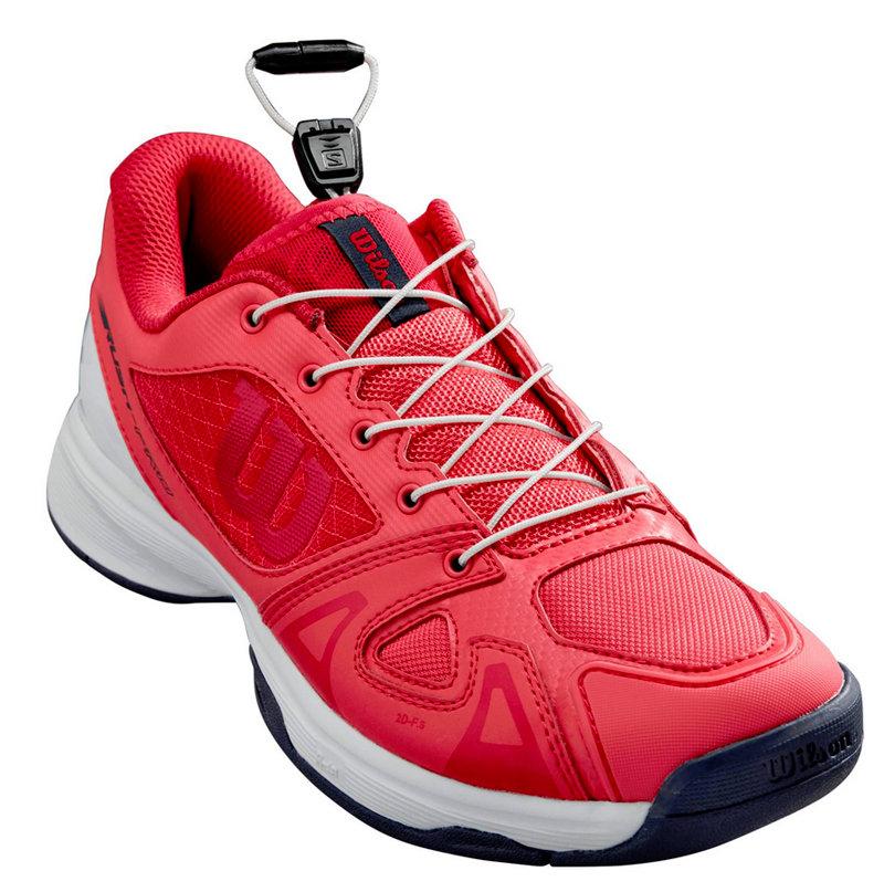 Bílo-růžová pánská tenisová obuv Rush Pro, Wilson - velikost 37 EU