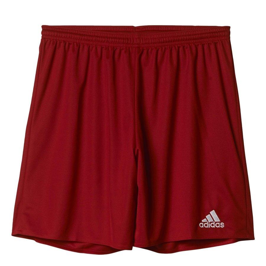 Červené dětské fotbalové kraťasy Parma 16, Adidas - velikost 116