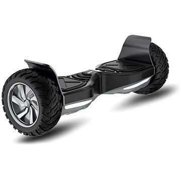 Černý hoverboard Kolonožka