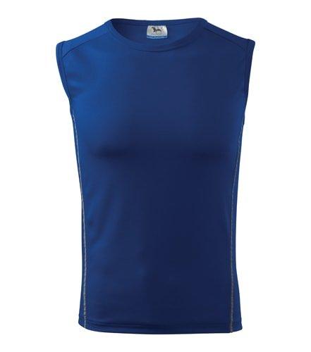 Modré pánské tričko bez rukávů Adler - velikost 146