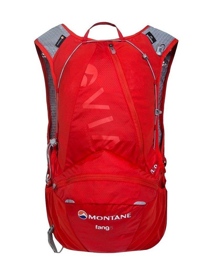 Červený běžecký batoh Via Fang, Montane