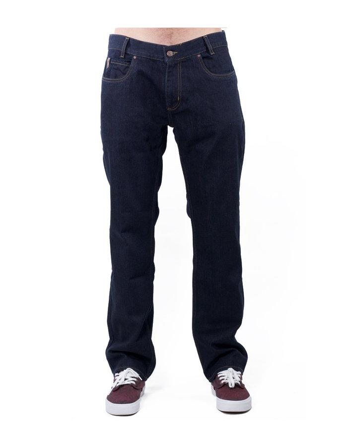 Kalhoty - MEATFLY Justyn B - Dark Blue Denim Velikost: 28