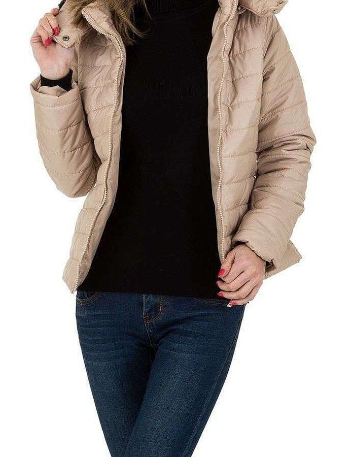 Béžová dámská bunda Milas - velikost S