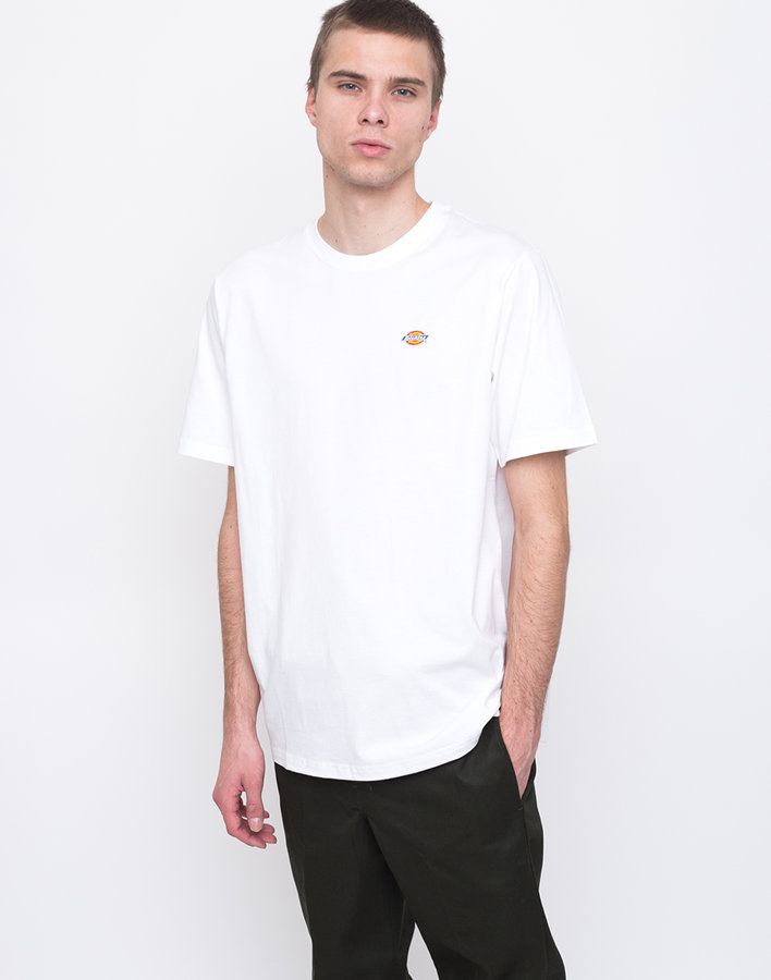 Bílé pánské tričko s krátkým rukávem Dickies - velikost S