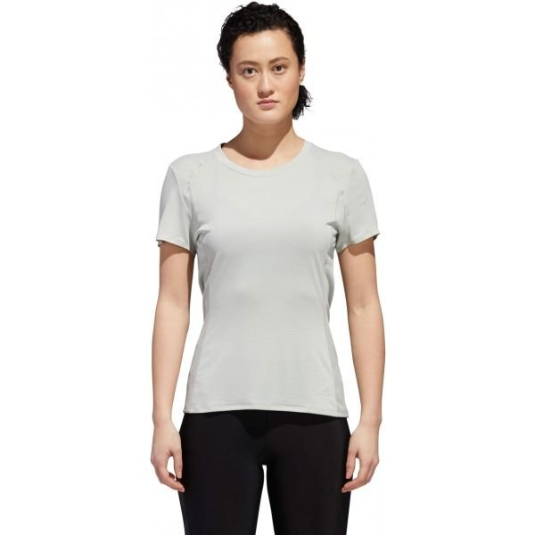Bílé dámské běžecké tričko Adidas