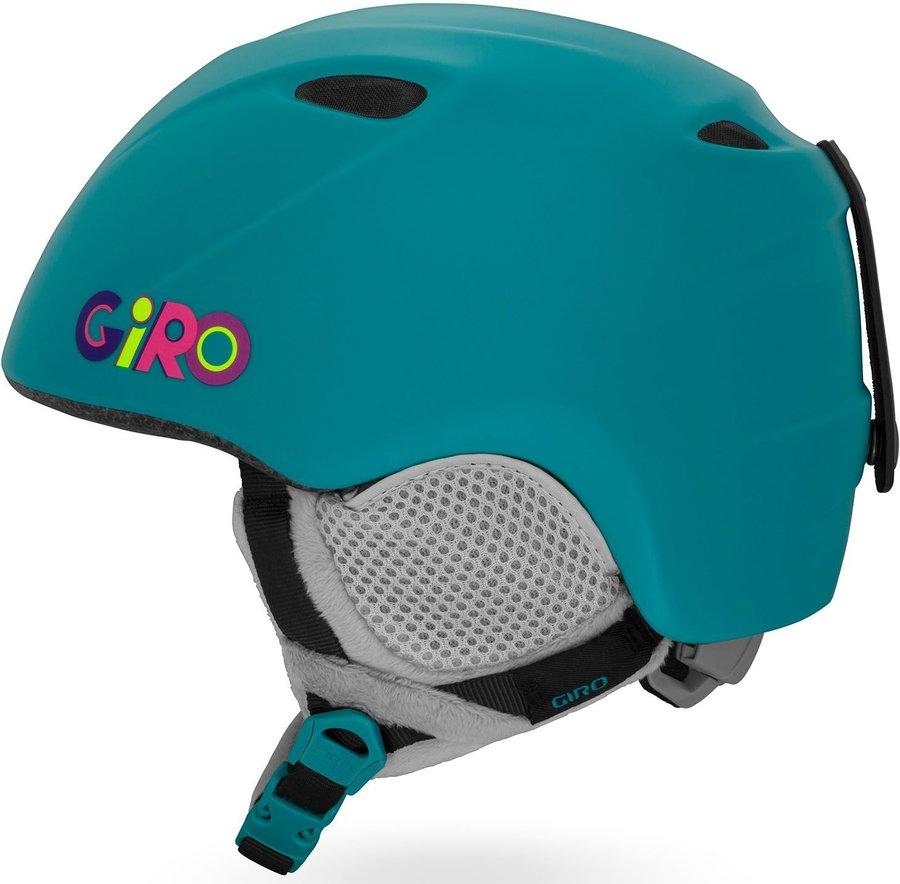 Tyrkysová dívčí lyžařská helma Giro
