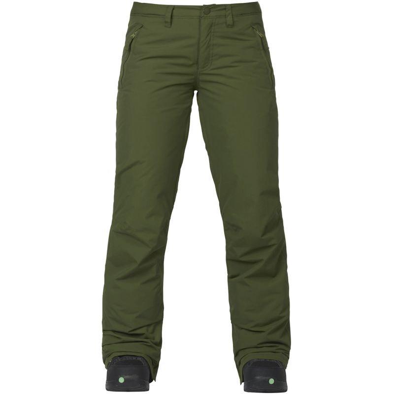 Zelené dámské snowboardové kalhoty Burton - velikost M