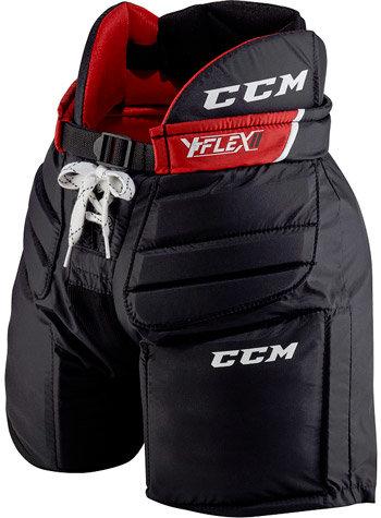 Černé dětské brankářské hokejové kalhoty CCM - velikost L-XL