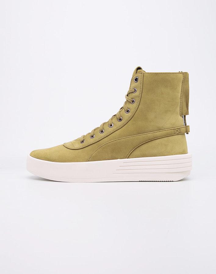 Zelené pánské kotníkové boty Puma