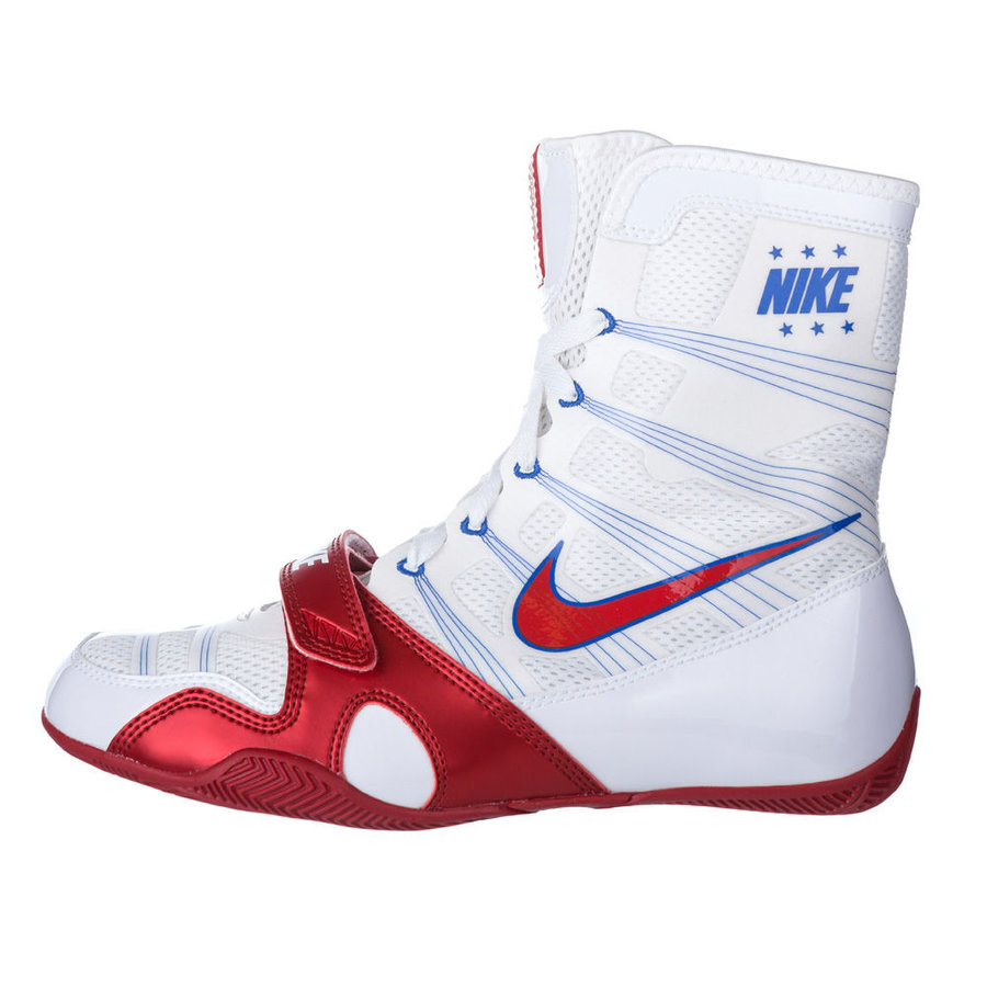 Bílé boxerské boty HyperKO, Nike - velikost 48,5 EU