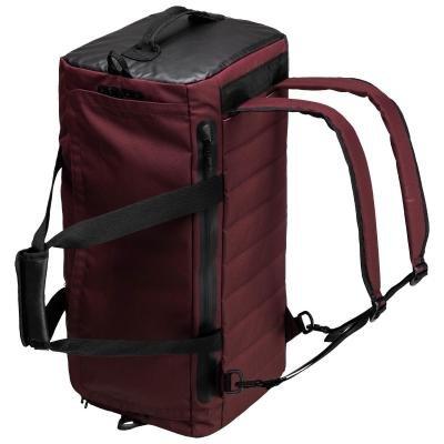 Červená sportovní taška Domyos - objem 40 l