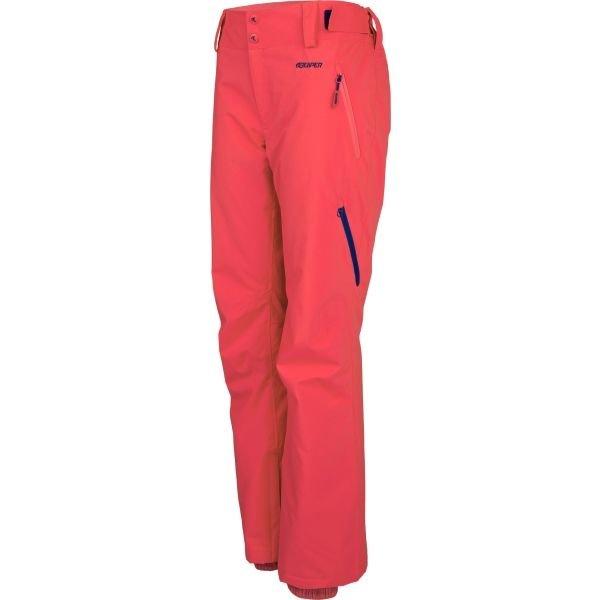 Červené dámské snowboardové kalhoty Reaper