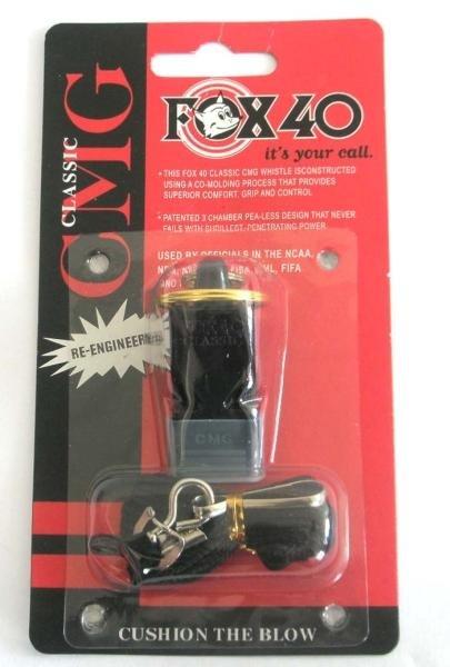 Píšťalka pro rozhodčího - Píšťalka FOX CGM SILICON 6704 - černá -