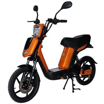 Oranžová elektrická motorka E-Babeta, Racceway