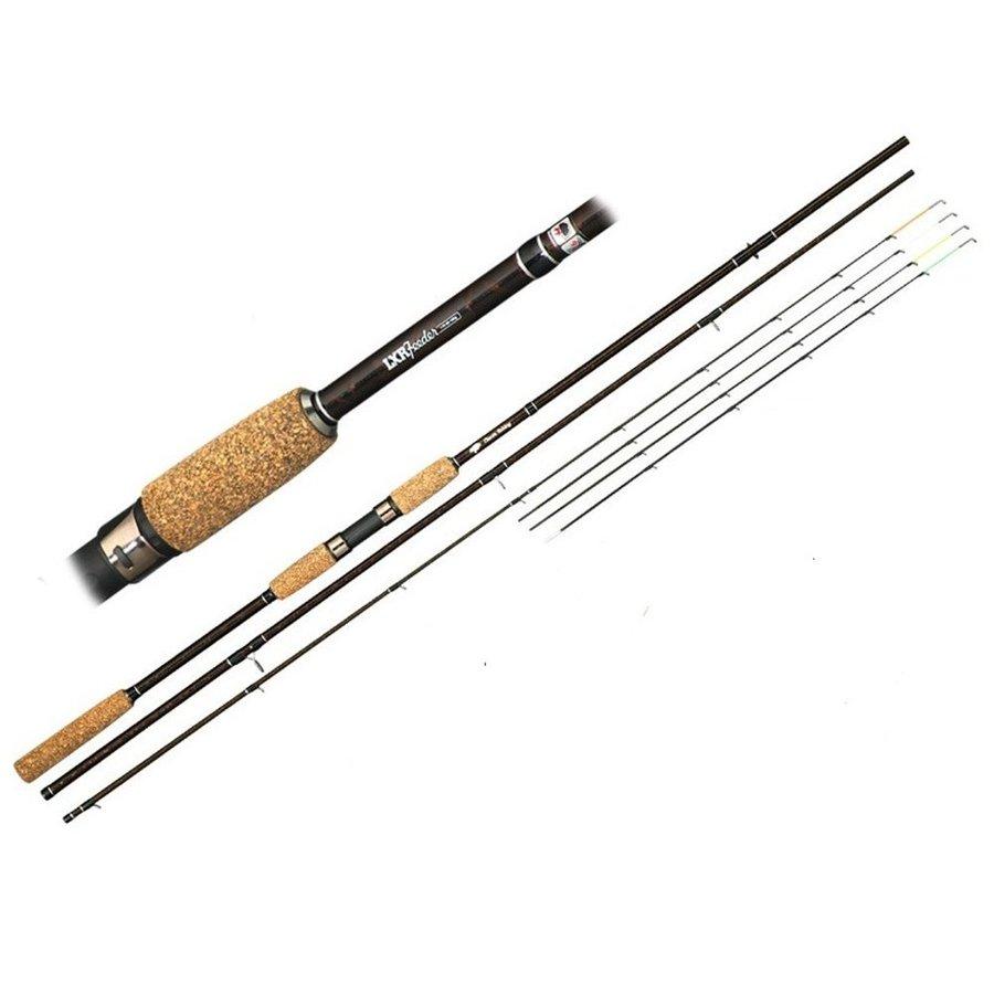 Feederový prut - Giants Fishing Prut LXR Feeder 11ft 50-100g + feederová hrazda + naviják zdarma!