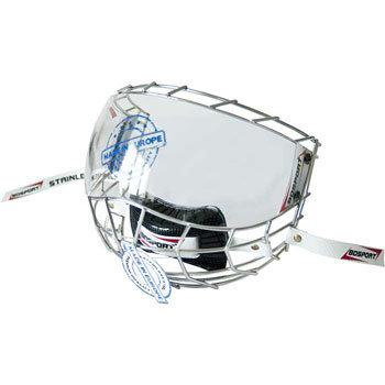 Hokejová mřížka - Mřížka + plexi Bosport Convex Junior