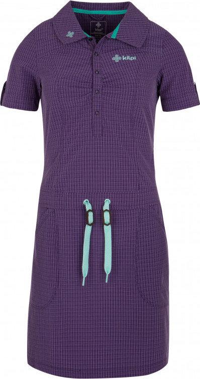 Fialové dámské šaty Kilpi
