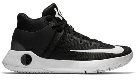 Bílo-černé pánské basketbalové boty KD TREY 5 IV, Nike - velikost 46 EU