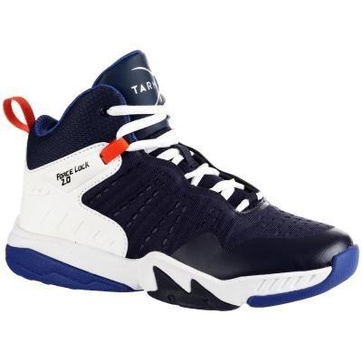 Bílo-modré dětské basketbalové boty SS500H, Tarmak
